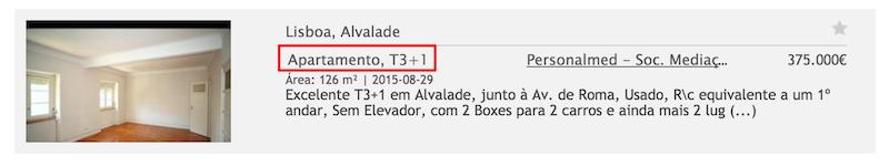 nombre de pieces portugal